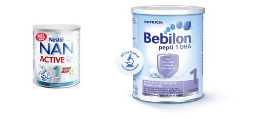 Mleko dla niemowląt jakie wybrać?