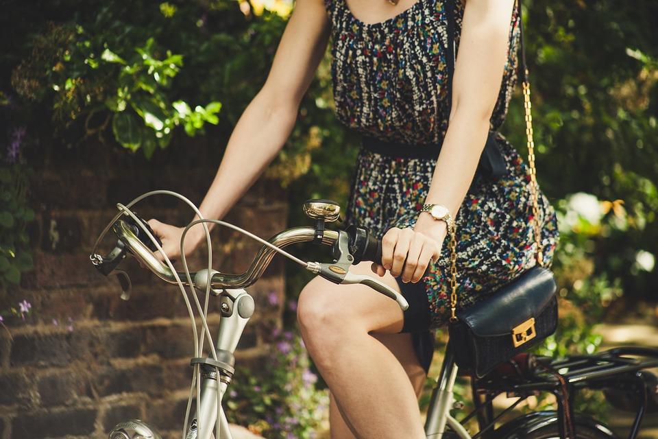 rowerem w ciąży